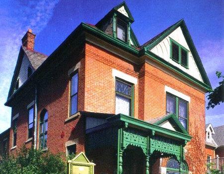 Thurber House facade