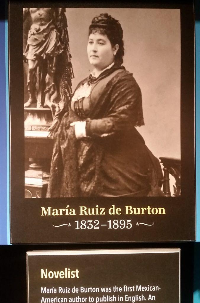 Maria Ruiz de Burton in A Nation of Writers timeline