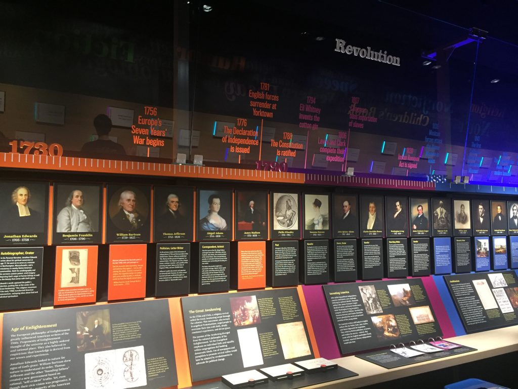 The American Writers Museum in Chicago, Illinois opened in May 2017