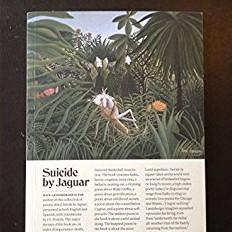 Suicide by Jaguar book cover