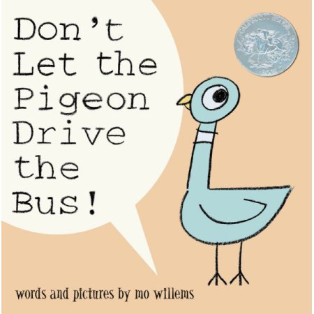 Don't Let the Pigeon Drive the Bus! book cover