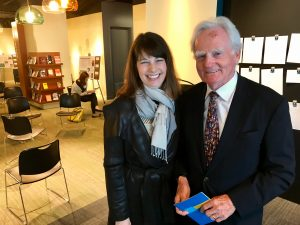 Angie Klink and Malcolm O'Hagan at the AWM