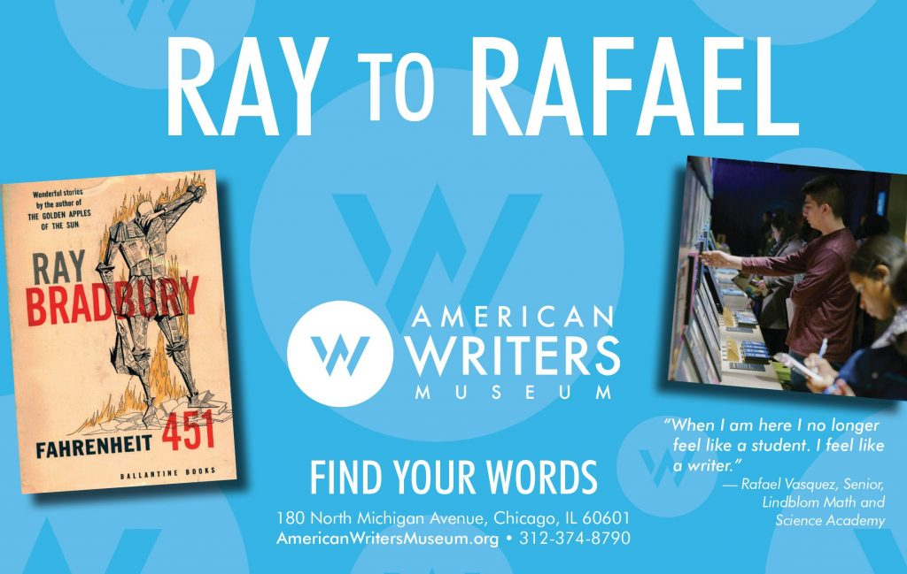 Ray to Rafael: Find your Words at the American Writers Museum