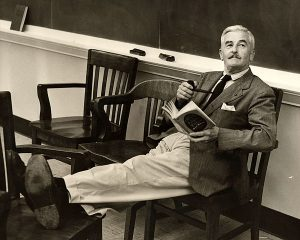 William Faulkner taking a break