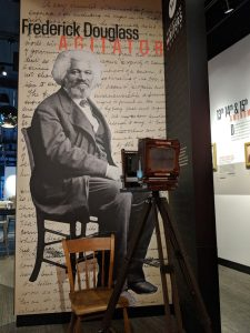 Take your photo with Frederick Douglass at the American Writers Museum