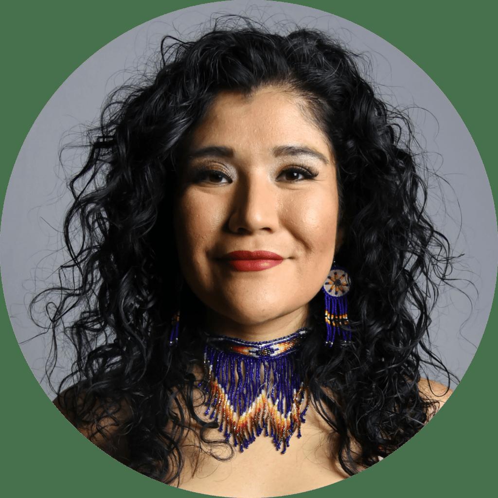 Tanaya Winder speaks at the American Writers Museum on May 9.