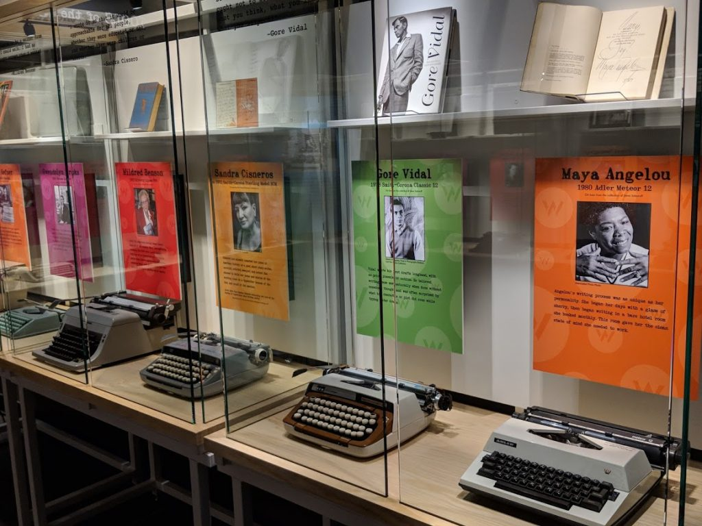 New exhibit Tools of the Trade now open at the American Writers Museum