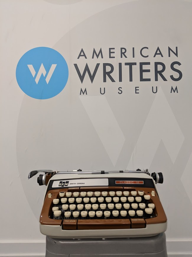 See Gore Vidal's typewriter on display at the American Writers Museum's Tools of the Trade exhibit