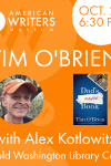 The American Writers Museum presents Tim O'Brien at the Harold Washington Library in Chicago